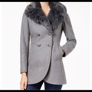 French Connection UK Wool Peacoat